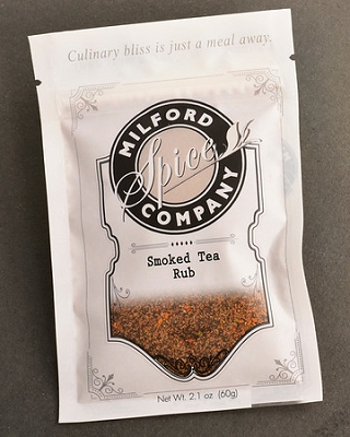 MSC Smoked Tea Rub for Grilling