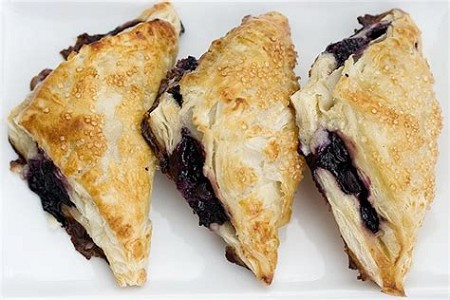 Pasquale's Pasta Fruit Turnovers (Cherry, Red Raspberry or Blackberry)
